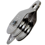 Double Side Snatch Block Pulley (stainless steel)