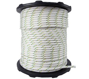 "Dbl Braided Polyester Rope - 1/2"" x 984ft."