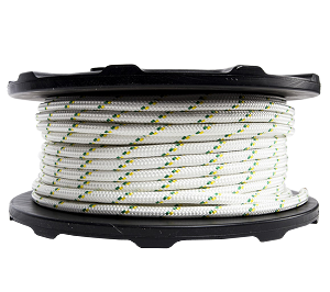 "Dbl Braided Polyester Rope - 1/2"" x 328ft."