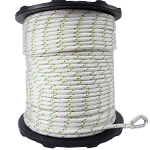 Spliced Eye Dbl Braided Polyester Rope - 1/2