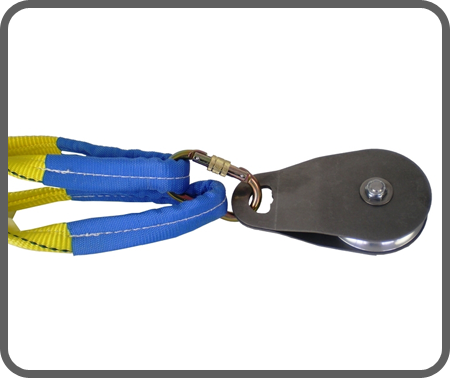 PCA-1274 4 Diameter Swing-Side Snatch Block