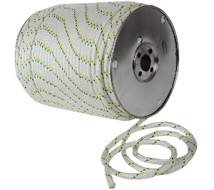 "Dbl Braided Polyester Rope - 3/8"" x 328ft."