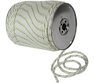 "Dbl Braided Polyester Rope - 3/8"" x 656ft."