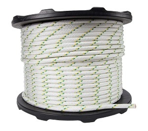 "Dbl Braided Polyester Rope - 1/2"" x 656ft."