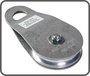 Swing Side Snatch Block Pulley (stainless steel)