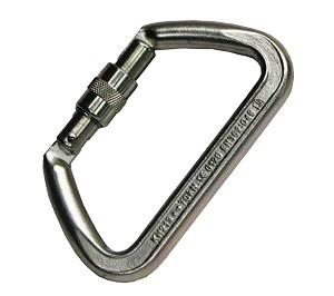 Heavy Duty Steel Locking Carabiner